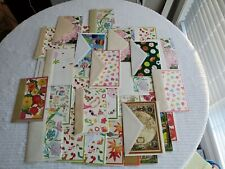 Lot Of 73 Assorted Greeting Cards + 108 envelopes - cards have bar codes inside