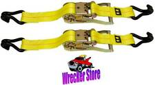 Qty. 2 - STEERING WHEEL LOCK WITH RATCHET FOR WRECKER TOW TRUCK ROLLBACK
