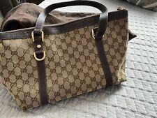 Gucci Monogram Vintage Tote Handbag