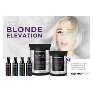 OSMO BLONDE Elevation System Premium 9+ Lifts, Free Hand Balayage color additive