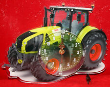 Horloge pendule tracteur class 1 clock uhr reloj tractor traktor