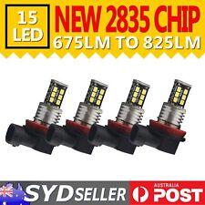 4x H11 H8 H9 LED Car Headlight Fog Lamp DRL Driving Light Replace 12V Globe Bulb