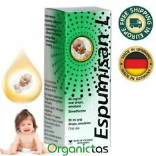 ESPUMISAN® L Drops 30ml Baby Colic, Bloating, Stomach Aches, Meteorism, Gases,