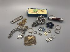 Junk Drawer Lot Jewelry, Charms, Fob Other Great Items Historic Cool!