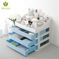 Cosmetic Makeup Organizer Storage Jewellery Box Acrylic Clear Holder Drawer   *