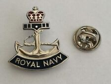 Royal Navy Anchor MOD Licensed lapel pin badge