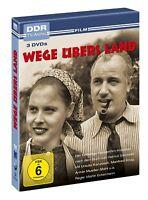 WEGE ÜBERS LAND (MANFRED KRUG/ARMIN MÜLLER-STAHL/CHRISTA LEHMANN+)  3 DVD NEU