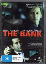 The Bank - Australian Film  Anthony Lapaglia (DVD, 2002) Region 0
