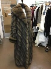DENNIS BASSO RUSSIAN BARGUZINE SABLE SWING COAT NEW RETAIL $275,000 Celebrity