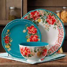 The Pioneer Woman Vintage Floral 12-Piece Dinnerware Set W