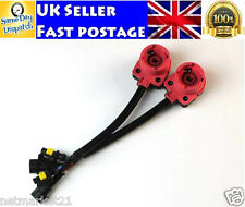 2x D2 D2S D2R D2C HID Xenon Wiring Harness AMP Adapter Wire Plug Cable Converter