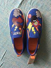 Geox Boys Shoes Cartoon Print Pumps Size Eu32 Uk13
