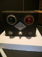 Vintage International Electric Company Fence Charger Model 106 Black Steampunk