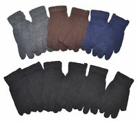 Winter Gloves Magic Knit Gloves Wholesale 12 Pairs - Bigger And Thicker New York