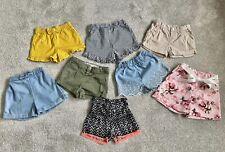 Girls Summer Shorts Bundle Age 2-3