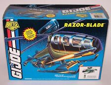 GI Joe Battle Corps Razor Blade Rescue Action Helicopter Launcher Shoot NIB 1994