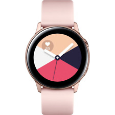 Samsung Galaxy Watch Active 40mm Aluminum Rose Gold Smartwatch SM-R500NZDCXAR
