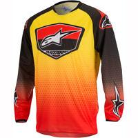 Alpinestars Racer Supermatic Jersey - Red Black Yellow