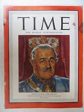 Time Magazine   July 16, 1945  India's Lord Wavell   GREAT VINTAGE ADS