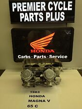 1983 HONDA MAGNA V 65 C REMANUFACTURED KEIHIN CARBS CARBURETORS READY TO RUN