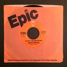 "SHIRLEY EIKHARD ""ANYWAY THE WIND BLOWS/SOME DAY SOON"" '77 ZSS 162914 7"" 45 PROMO"