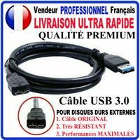 Câble USB 3.0 pour disque dur externe MICRO USB 3.0 WD SEAGATE TOSHIBA 1,2 m