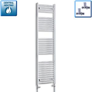 450mm Wide 1700mm High Designer Chrome Heated Towel Rail Radiator Bathroom Rad