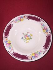 Vintage Homer Laughlin Majestic Fruit/Dessert/Sauce Bowl 5 7/8Brittany,  Floral,