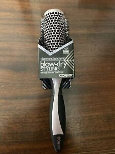Conair Diamond Ceramic Blow- Dry Styling Brush, Round