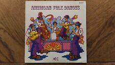 Vinyle 45 Tours « American Folk Dances » Très Bon Etat.