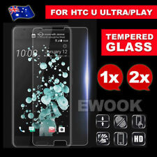 Unbranded Tempered Glass Mobile Phone Screen Protectors for HTC U11