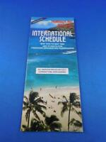 HOLIDAYS BY WARDAIR AIRLINES INTERNATIONAL SCHEDULE TIMETABLE MAY 1979 1980
