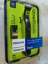 PHILLIPS NORELCO ONE BLADE FACE TRIMMER SHAVER QP2520/70  BRAND NEW