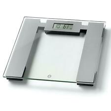 Weight Watchers Ultra Slim Glass Electronic Bathroom Body Weight Scales - Silver