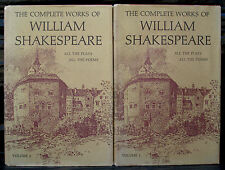 William Shakespeare - Complete Works - Two Volumes (Hardback)