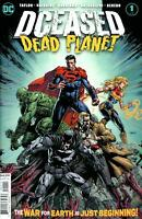Dceased Dead Planet #1 (Of 6) Cvr A David Finch (2020 Dc Comics) First Print