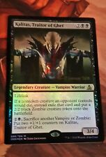 Mtg Magic the gathering Oath, Kalitas, Traitor of Ghet X1 Release Foil Promo