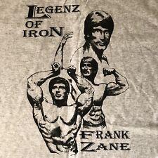 Legenz of Iron Frank Zane Body Building Camp Muscle Bodywear Mens XL T Shirt