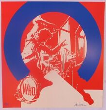 Ivan Messac Sérigraphie My Generation The Who 2013