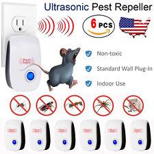 6 pcs Ultrasonic Pest Repeller Control Electronic Repellent Mice Rat Pest Reject