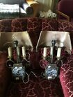 Fine Art Wall Sconces  PAIR Great Condition