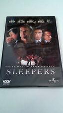 "DVD ""SLEEPERS"" COMO NUEVO BARRY LEVINSON BRAD PITT ROBERT DE NIRO KEVIN BACON"