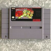 SNES Battle Clash Super Nintendo AUTHENTIC Cartridge Cleaned & TESTED Fast Ship
