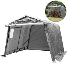 Portable Storage Shed, Portable Garage Shelter 10x10x7.8 ft Storage Shelter Grey
