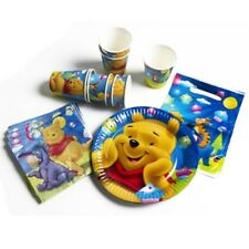 Winnie The Pooh 40 Piece Party Pack - 8 Plates 8 Cups 8 Lootbags 16 Napkins