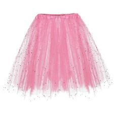 Women Layer Tulle Skirt Long Dress Princess Ballet Tutu Dance Skirt Fanny CA