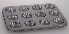 Stampo Teglia Vassoio Antiaderente 12 Muffin Cupcake Dolci Budino Conchiglie dfh