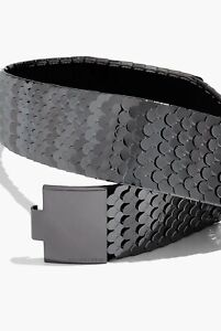 Country Road Metal Belt [XS/S] NWT $100 Gunmetal