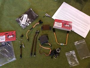 Redcat Everest 10 Four Wheel / Rear Steering Crawler 4WS complete kit with servo