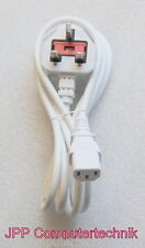 UK Power Cord Cable for Apple I-Sheng SP-62 SP-60 White 1.8m iMac 2rd